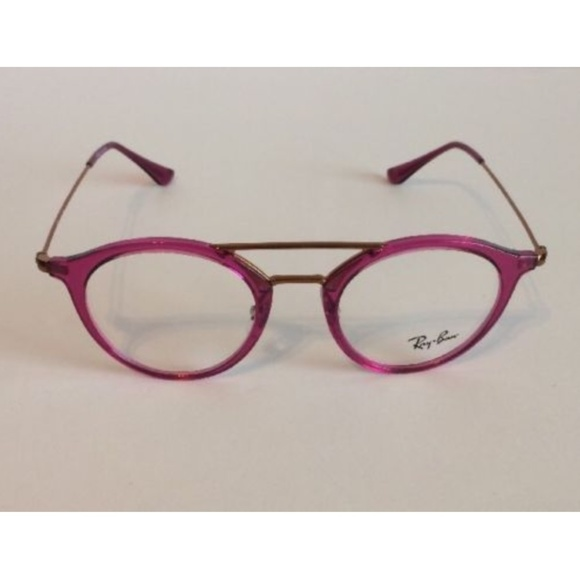 f39b61b453 Ray-Ban Pink Fuschia Round Eyeglasses RB 7097 5631.  M 5a7bc34c077b97553550ac64. Other Accessories ...